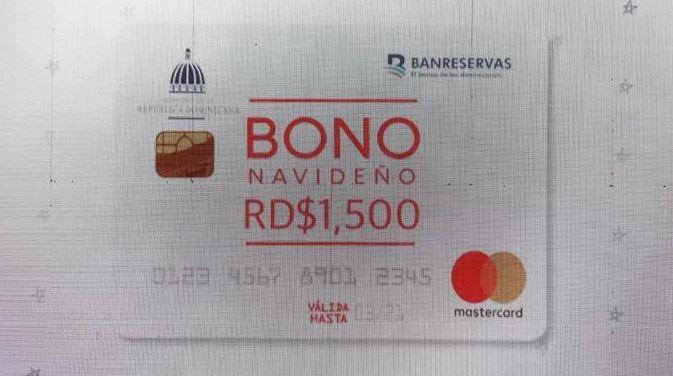 Gobierno inicia entrega de la Tarjeta Bono Navideño con un monto de RD$1,500 y explica cómofuncionará