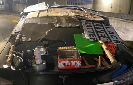 Amenaza de bomba en NY tras encontrar paquete sospecho dentro deautomóvil