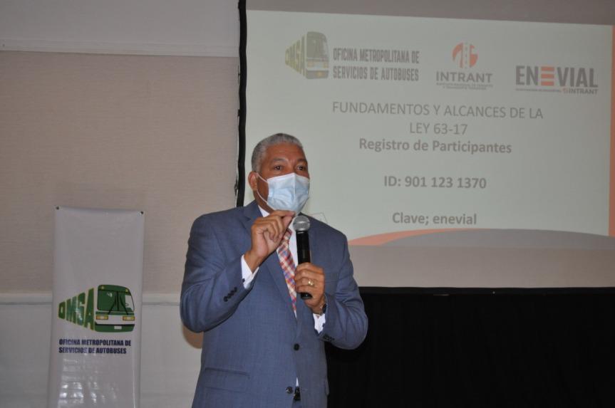 Juristas de la OMSA participan en jornada de sensibilización sobre la LEY 63-17 detránsito