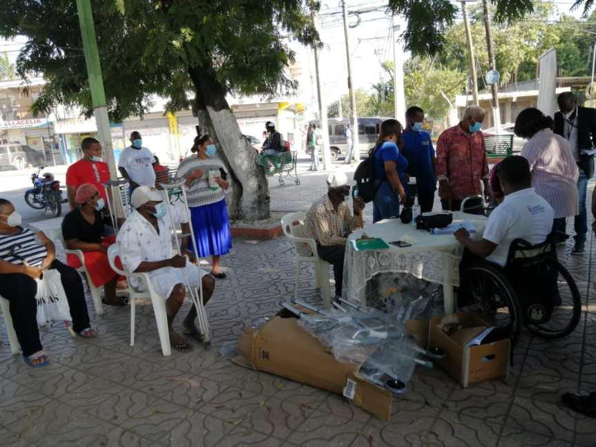 Programa Quisqueya digna en Hato Nuevo, Santo DomingoOeste