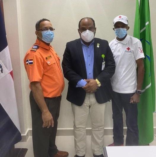 SENASA regional  Santo Domingo Oeste,  acuerda gestionar seguro  voluntario  a la defensa civil y cruzroja.