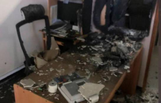 Fuego destruye documentos y equipos informáticos de área financiera del Ministerio de laMujer