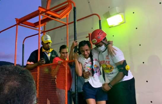 Rescatan a todas las personas estaban varadas en el Teleférico de PuertoPlata