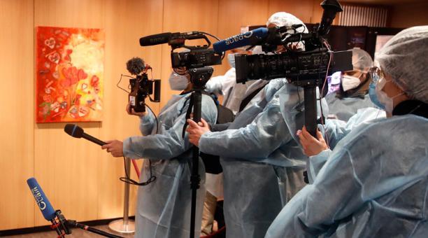 Al menos 1,500 periodistas han muerto por COVID-19 en 77países