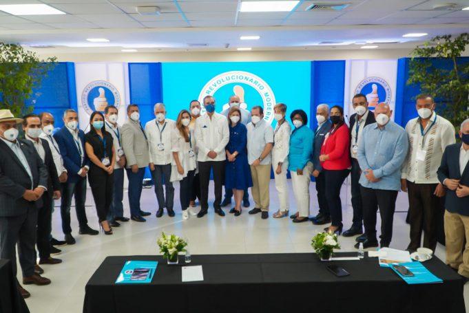 Abinader y legisladores del PRM abordan los problemas de las diferentes provincias duranteseminario