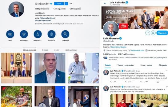Redes sociales, el pilar en campaña deAbinader