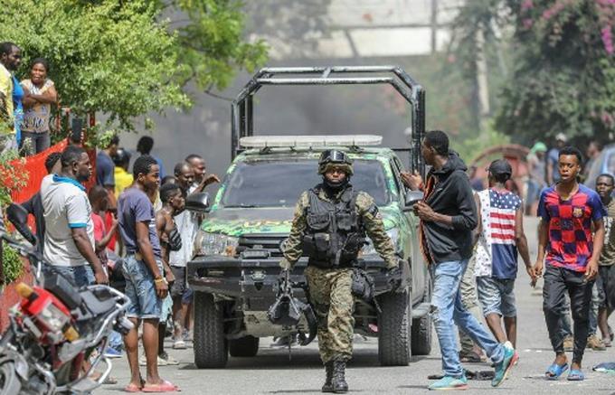 Arrestan a quince colombianos y dos estadounidenses por magnicidio enHaití