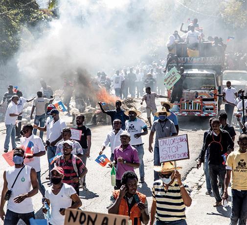 Haití, después delMagnicidio