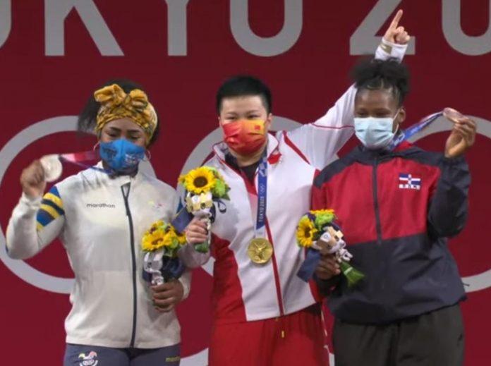 Crismery Santana da tercera medalla a República Dominicana en Tokio2020