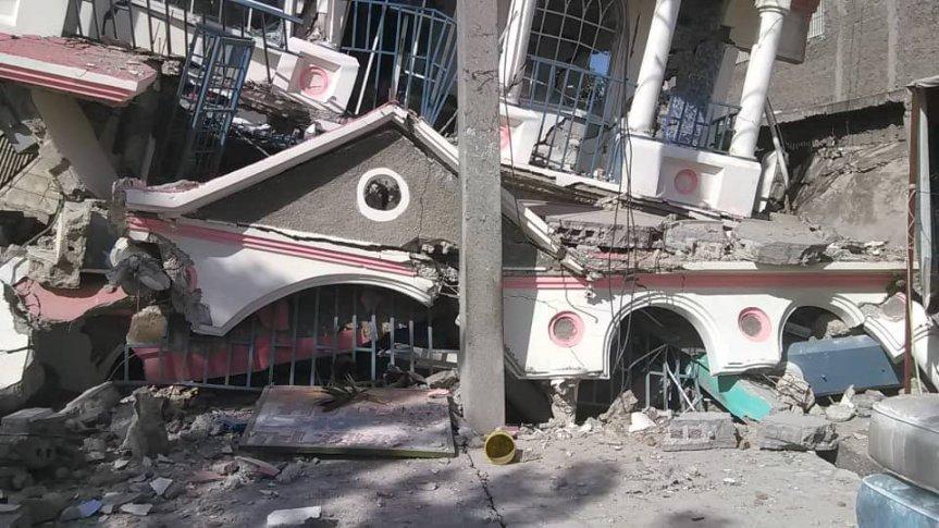 Haití agradece a Rep. Dominicana su solidaridad tras terremoto7.2