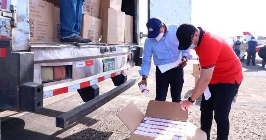 Dominicana envía hacia Haití 17,000 libras medicamentos einsumos