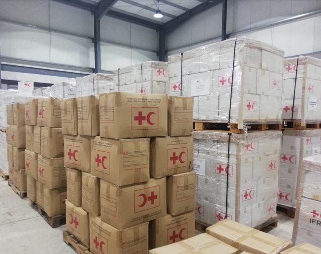 La Cruz Roja envía segundo cargamento de ayuda humanitaria aHaití