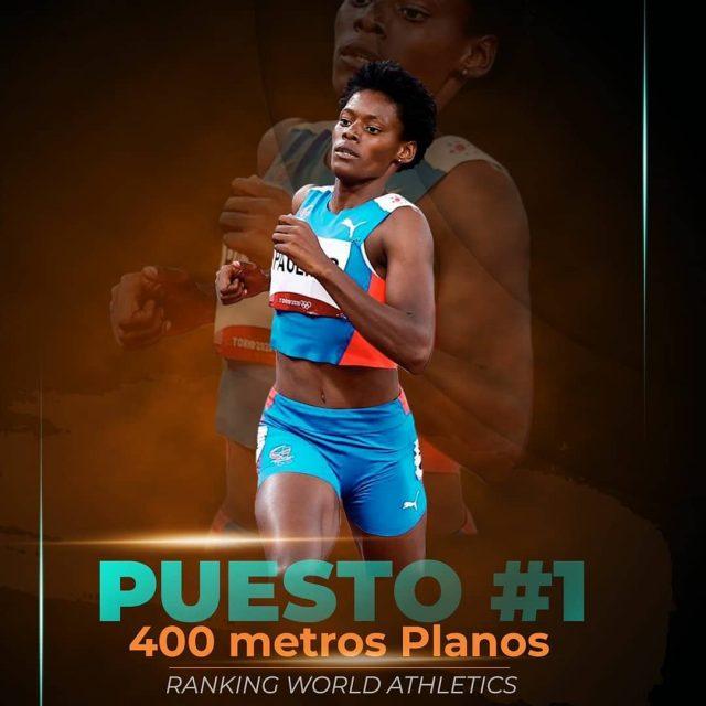 Marileidy Paulino #1 en el mundo en 400 metrosplanos