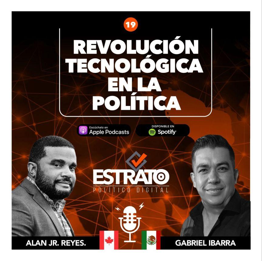 """Lanzan serie de Podcasts """"Revolución Tecnológica en la política""""."""