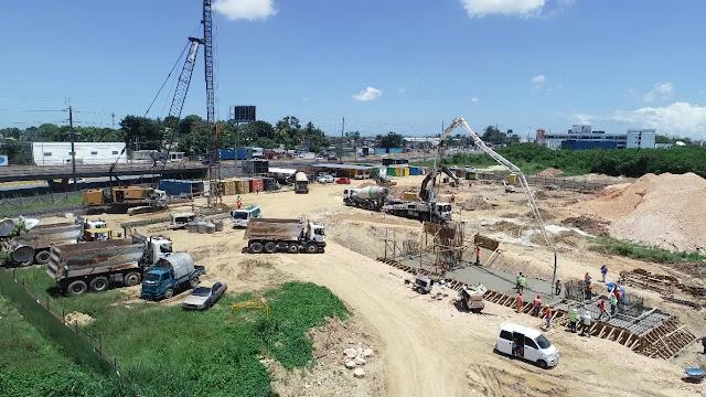 Avanzan trabajos de construcción teleférico de LosAlcarrizos